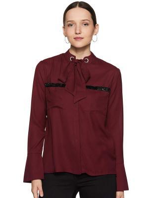 Krave Womens Plain Regular fit Shirt
