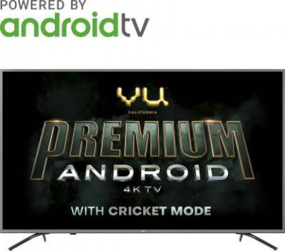Vu Premium Android 108cm (43 inch) Ultra HD (4K) LED Smart Android TV with Cricket Mode (43-OA)
