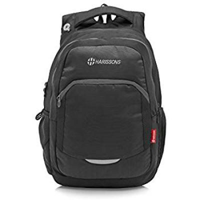 Harissons Polyester 33 Ltr Black Laptop