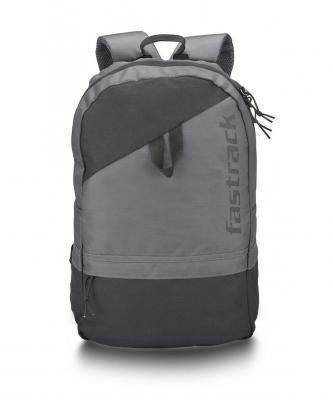 Fastrack 21 Ltrs Grey School Backpack