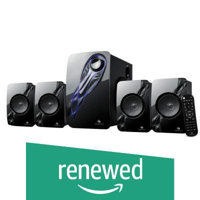 (Renewed) Zebronics Jelly Fish 4.1 Channel Multi Media Speaker (Black)