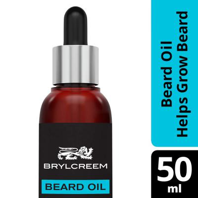 Brylcreem Beard Oil - Helps Grow Beard, 50 ml