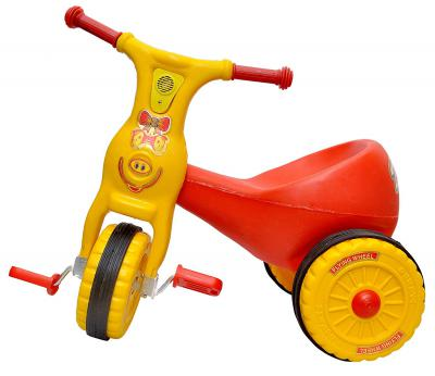 Toyshine Ducky Baby Tricycle Ride-on Bicycle (Red)
