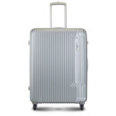 VIP Track Polycarbonate 76 Cms Silver Hardsided Check-in Luggage