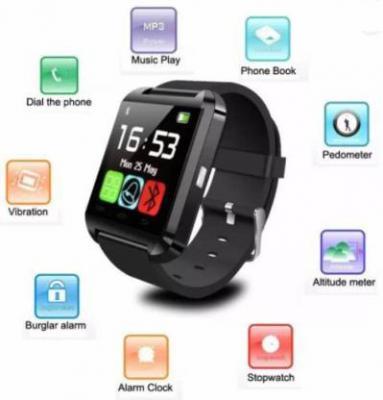CELESTECH NS1 phone Black Smartwatch  (Black Strap Free Size)
