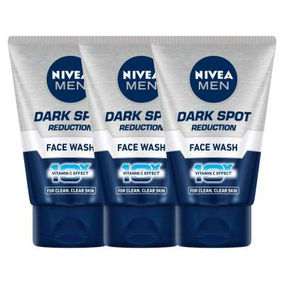 Nivea Dark Spot Reduction Face Wash, 100ml (Pack of 3)