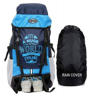 POLESTAR XPLORE 55 ltrs with Rain Cover Rucksack/Hiking/Trekking Backpack Bag 55 ltrs