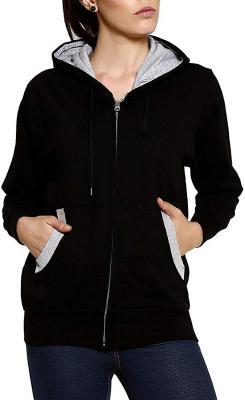 GOODTRY Womens Cotton Hoodies-Black