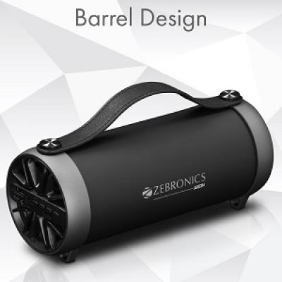 Zebronics Portable Bluetooth Speaker with AUX Func...