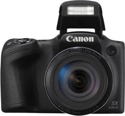 Canon PowerShot SX430 IS (20 MP, 45x Optical Zoom, 4x Digital Zoom, Black)