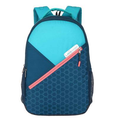 Lavie Sport 34 Ltrs Teal School Backpack (BDEI929043N4)