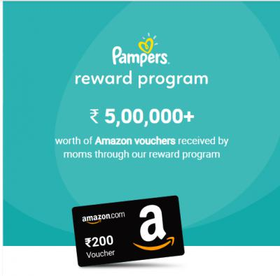 Pampers Review Contest: Win Amazon Voucher