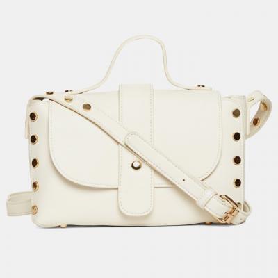 Miss CL White Sling Bag Min.80% off