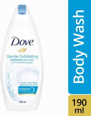 Dove Gentle Exfoliating Nourishing Body Wash, 190ml