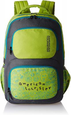 American Tourister 29 Ltrs Lime Casual Backpack (Backpack 2016 Hoola 4 - Lime)