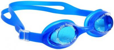 Syndicate Best Quality Blue Pouch silicon swimming goggles with UV protection Swimming Goggles