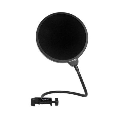Generic Studio Microphone Mic Wind Screen Pop Filter/ Swivel Mount, 360 Flexible Gooseneck Holder