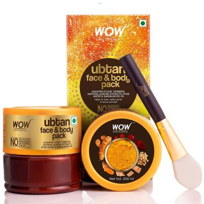 WOW Skin Science Ubtan Face & Body Pack