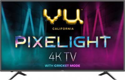 Vu Pixelight 126cm (50 inch) Ultra HD (4K) LED Smart TV (50-QDV)