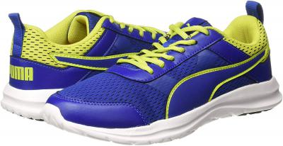 Puma Men's Dune-dust IDP Sodalite Blue-Limepunch Sneakers