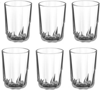 Treo FLORIA COOL Glass Set  (Glass, 218 ml, Clear, Pack of 6)
