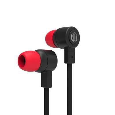 Nu Republic Jaxx L Wired Earphones (Black)