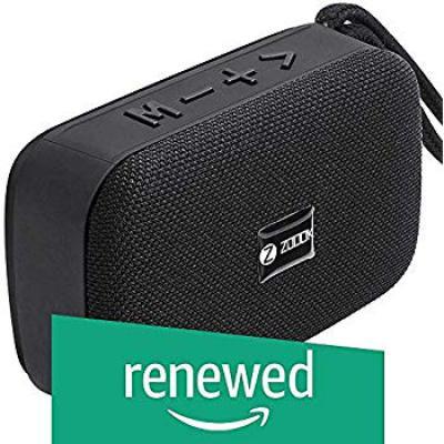 (Renewed) Zoook Rockstar 5 Watt Bluetooth Speaker with TF/USB/Hands-Free