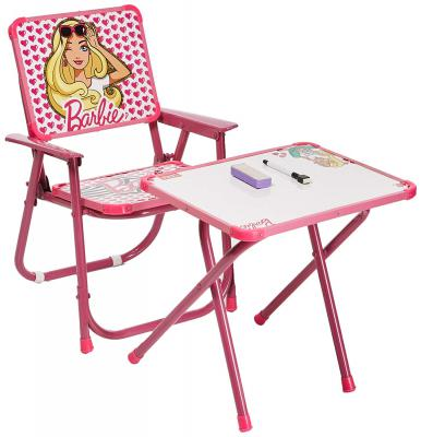 Barbie Kids Multipurpose Table and Chair