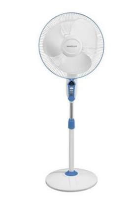 Havells Sprint LED 400mm Pedestal Fan (Wine Red)