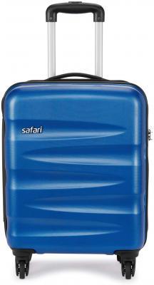 Safari Wedge 55 Cms Polycarbonate Cabin 4 wheels Hard Suitcase