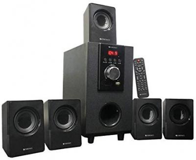 Zebronics Zeb SW6100 RUCF 5.1 Multimedia Speaker System with Remote