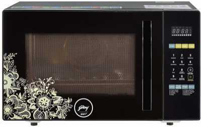 Godrej 28 L Convection Microwave Oven  (GME 528 CF1 PM, Black)