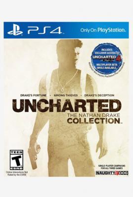 PS4 Nathan Drake Collection Uncharted
