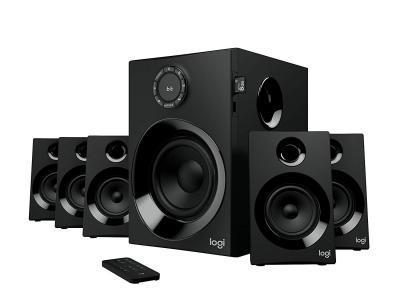 Logitech Z607 5.1 Surround Sound Speaker System with Bluetooth (Black)
