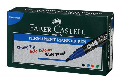 Faber-Castell Permanent Marker Pen - Pack of 10