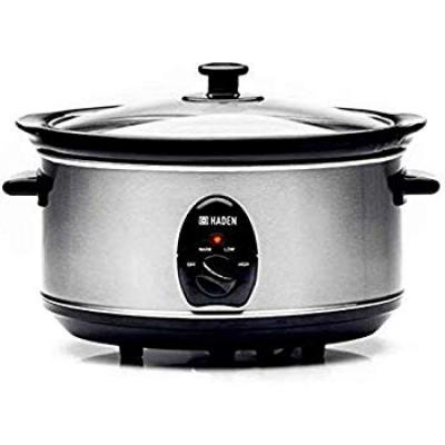 Sabichi Haden 3.5 Ltr Stainless Steel Slow Cooker (Silver)