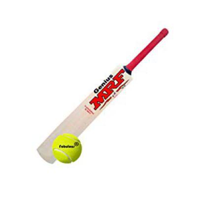MRF Genius Virat Kohli Popular Willow Cricket Bat with Ball