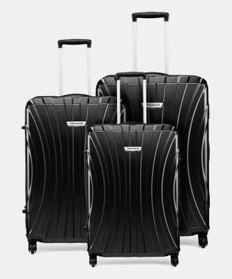 Provogue S01-3 COMBO SET (28+24+20) Cabin & Check-in Luggage - 28 inch  (Black)