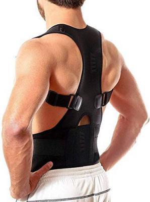 Beldaenova Magnetic Back Brace Posture Corrector for Lower and Upper Back Pain