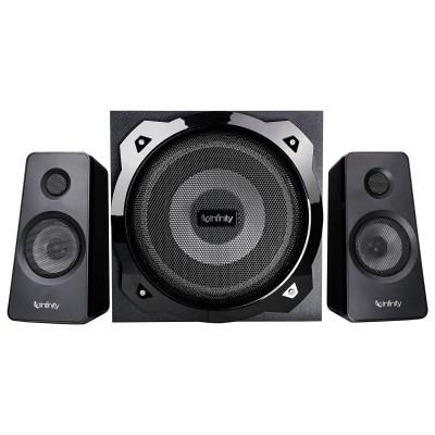 (Renewed) Infinity (JBL) Hardrock 210 Deep Bass 2.1 Channel Multimedia Speaker