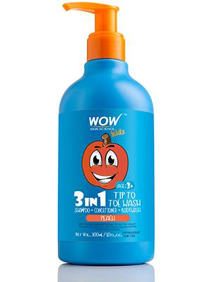 WOW Kids Tip to Toe Wash - Shampoo - Conditioner - Body Wash