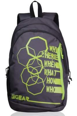 F Gear Diamond Octa 27 Ltrs Orange Casual Backpack