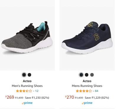 Acteo Men's Footwear 70% Off