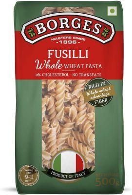 Borges Whole Wheat Fusilli Pasta, 500g