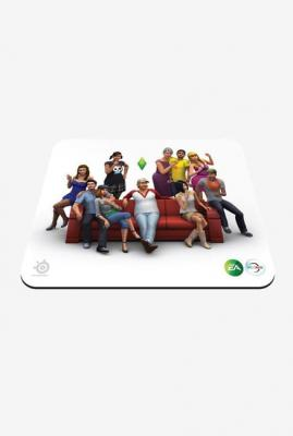 SteelSeries QcK The Sims 4 Edition Mouse Pad (White)