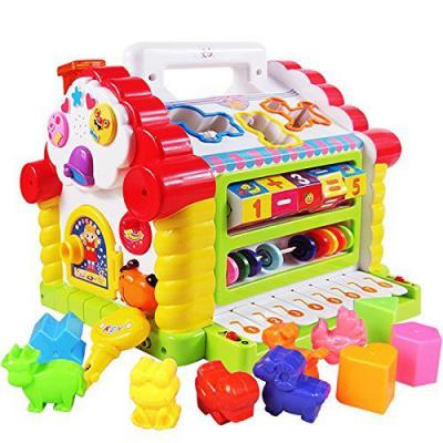 Smartcraft Colorful and Attractive Funny Cottage Educational Toy, Learning House - Baby Birthday Gift for 1 2 3 Year Old