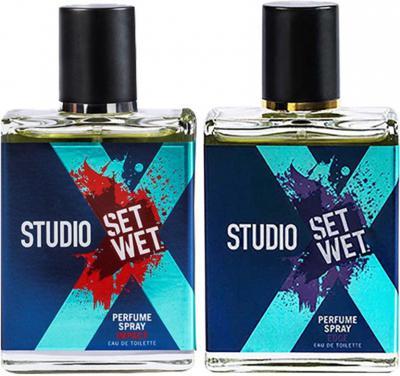 Set wet studio x Perfume Spray For Men, Edge & Impact Combo Set  (Set of 2)