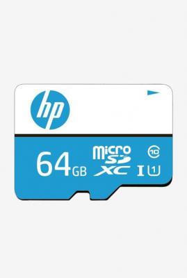 HP MSDCWAU1 64GB Class 10 MicroSD Memory Card with Adapter