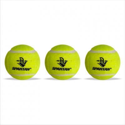 Spartan Cricket tennis ball LIGHT- Set of three Cricket Tennis Ball