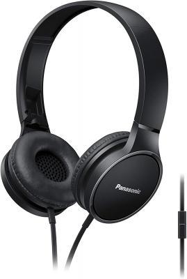 Panasonic RP-HF300ME-K Headphones with Mic (Black)